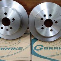 Задние тормозные диски Caldina GT/GTT/Corona/Carina