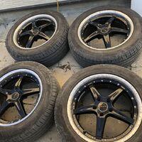 Продам комплект 18 колёс