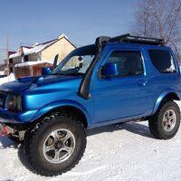Шноркель (шнорхель) Suzuki Jimny 660 левый