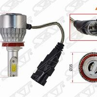 Комплект светодиодных ламп LED H11 36W/3800LM