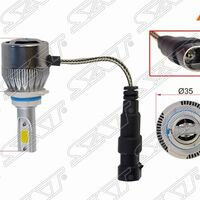 Комплект светодиодных ламп LED HB4(9006) 36W/3800LM