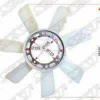 Крыльчатка вентилятора TOYOTA 2-3B,2C#,5K,7K,1RZE,1TR-FE,3Y