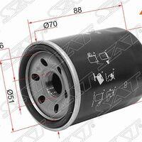 Фильтр масляный SUZUKI SX4 M15A/M16A/GRAND VITARA JB416/ESCUDO J20A/J2
