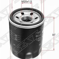 Фильтр масляный MITSUBISHI OUTLANDER 2.0 4B11/2.2 DI-D 4HK,4HN/2.4 4B1