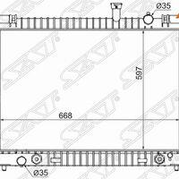 Радиатор NISSAN ARMADA/TITAN/QX56 04-