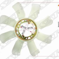 Крыльчатка вентилятора TOYOTA 1FZ-F#
