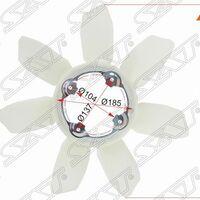 Крыльчатка вентилятора TOYOTA LAND CRUISER PRADO 120 /SURF/FJ CRUISER