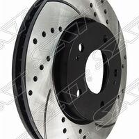 Комплект дисков тормозных передний перфорированные MITSUBISHI Airtrek/