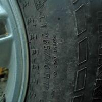 Продаётся комплект колёс R17