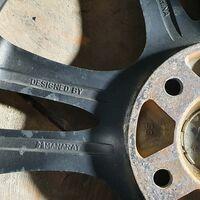 Комплект колес Manaray r17 5-114.3 с жирной резиной зима