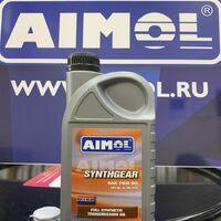 Масло трансмиссионное aimol synthgear 75w-90 pao