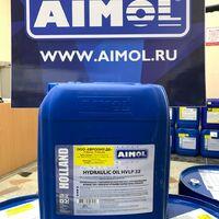Гидравлическое масло aimol (голландия) hvlp32 до -50 гидравлика 20л