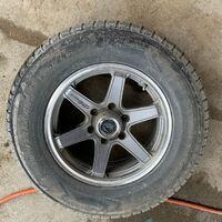Продам в сборе диски с резиной 265/65R17