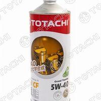 Масло моторное синтетическое TOTACHI Grand Touring 5W-40 SN/CF, A3/B4