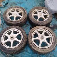 Колеса большая пятерка и четверка R16 на зимней резине