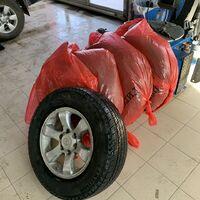 Комплект летних колёс на TLC Prado