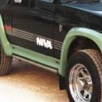 Продам: Накладки арок колес и порогов F02 LADA 4x4 2131