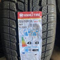 225/55R18 пара новых шин Wanli