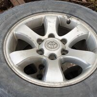 колеса в сборе Toyota 265/65R17