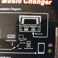 Эмулятор cd changer для Тойота 2000+