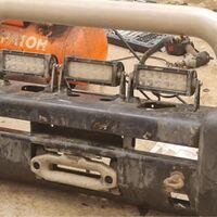 Усиленые бампера ARB Land Cruiser 200