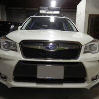 Накладка, губа на задний бампер STI Subaru Forester SJ5 SJG SJ