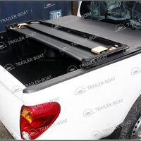Мягкая трехсекционная крышка кузова пикапа Mitsubishi L200 2014-2015