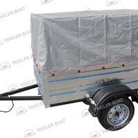 "Прицеп бортовой для перевозки грузов (2,0х1,3 рес/13"", каркас, тент)"
