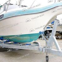 Прицеп для лодки ПВХ, РИБ, катера до 7 м, колеса R13