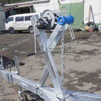 Прицеп для катера, лодки ПВХ, РИБ до 8,6м. с гидравлическим тормозом