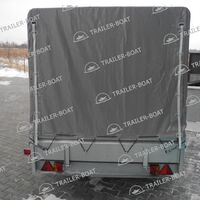 Прицеп Трейлер 2,5 x 1,5 м R16 для техники и груза, самосвальный тип