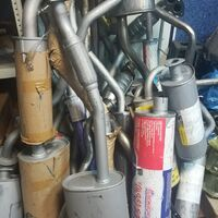 Ремонт глушителя, сварочные работы