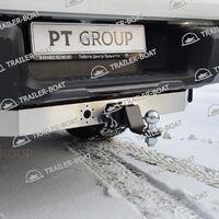 Фаркоп с нерж накладкой Toyota Hilux 2015-XX 41263