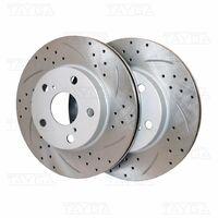 Перфорированные диски Corolla Axio Fielder в наличии