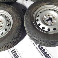 Оригинальные диски Toyota с резиной Япония #10