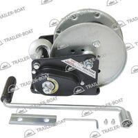 Лебедка ручная барабанная для прицепа с автостопом Rock 3500 1588 кг