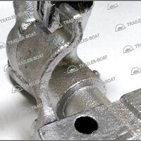 Сцепное устройство прицепа с механизмом тормоза наката, 15050А