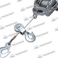 Лебедка рычажная ручная для прицепа с храповым механизмом 770/1500 кг