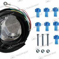 Розетка для прицепа электрическая в комплекте с электропроводкой