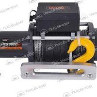 Лебедка автомобильная электрическая, 12V RockWinch RES 9500 LBS