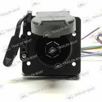 Универсальный адаптер 4 Wire Flat to 7 RV Blade & 4 Wire Flat