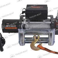 Лебедка автомобильная электрическая, 12V Rock RES 9500 LBS