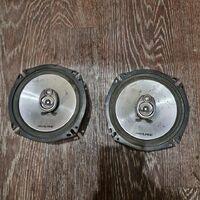 Колонки в двери ALPINE Delica PE8w/ Pajero V46w / Hiace LH107/ Town CR
