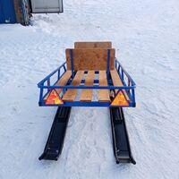 Сани для снегоходов