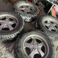 Продам комплект летних колес R18 6x139.7