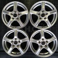 Диски R15 Bridgestone Balminum 4х100 (+45) J5. Без пробега по РФ