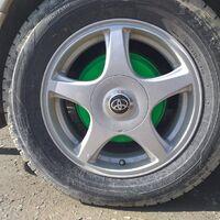 шины в сборе на Tоуота corona premio ST215