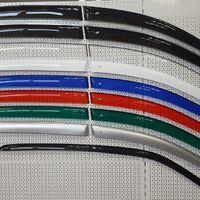 Ветровики (дефлекторы боковых окон) цветные и прозрачные