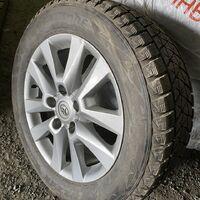 Продам на Land Cruiser резину Bridgestone 285/50/20 DMV-2 на дисках