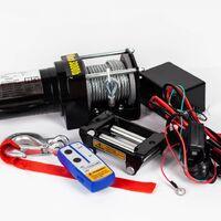 Лебедка Electric Winch 12v 3000 LBS/1361 кг (сталь)